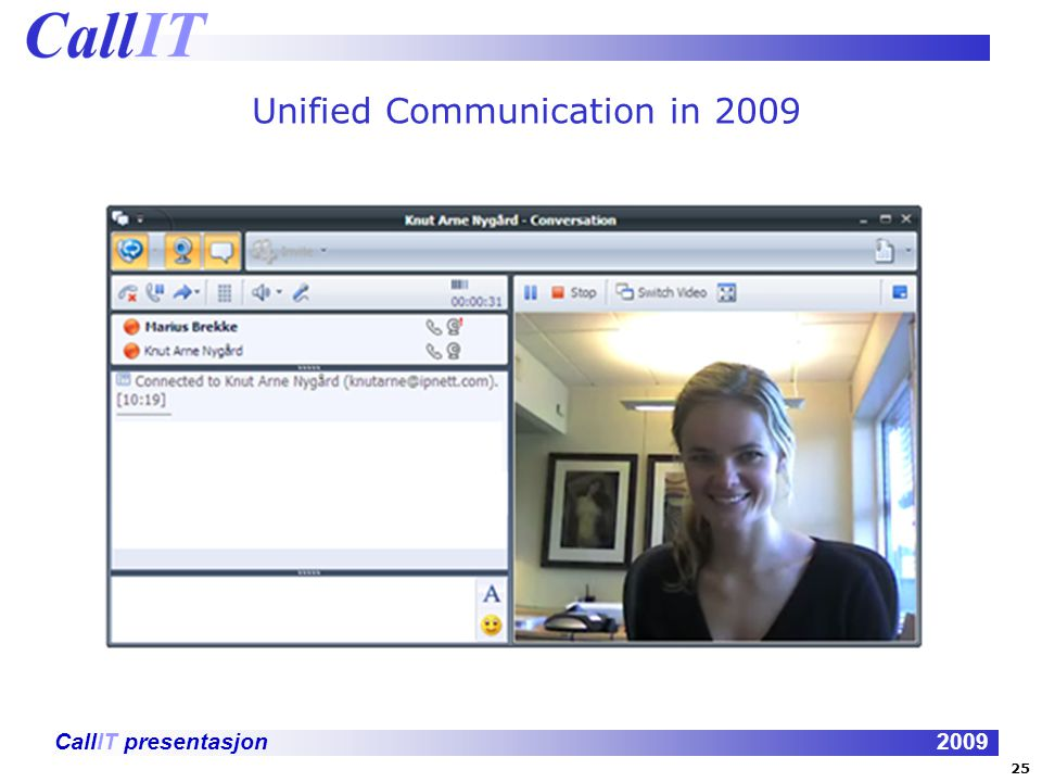 Unified Communication in 2009