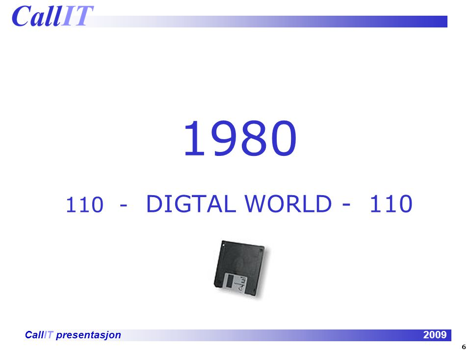 1980 110 - DIGTAL WORLD - 110 6