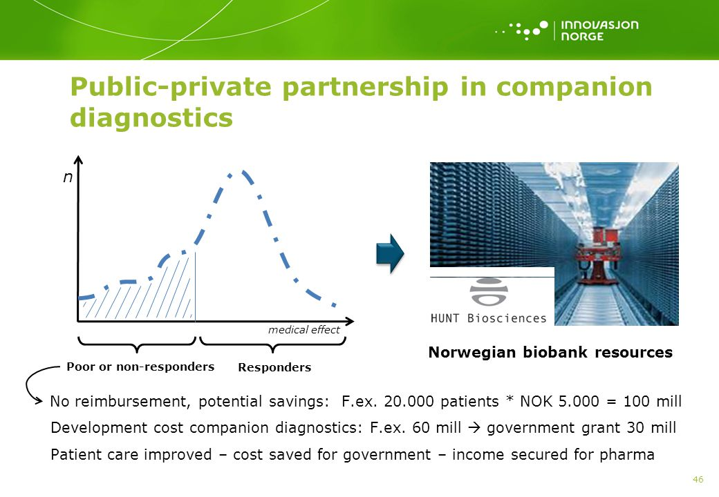 Public-private partnership in companion diagnostics