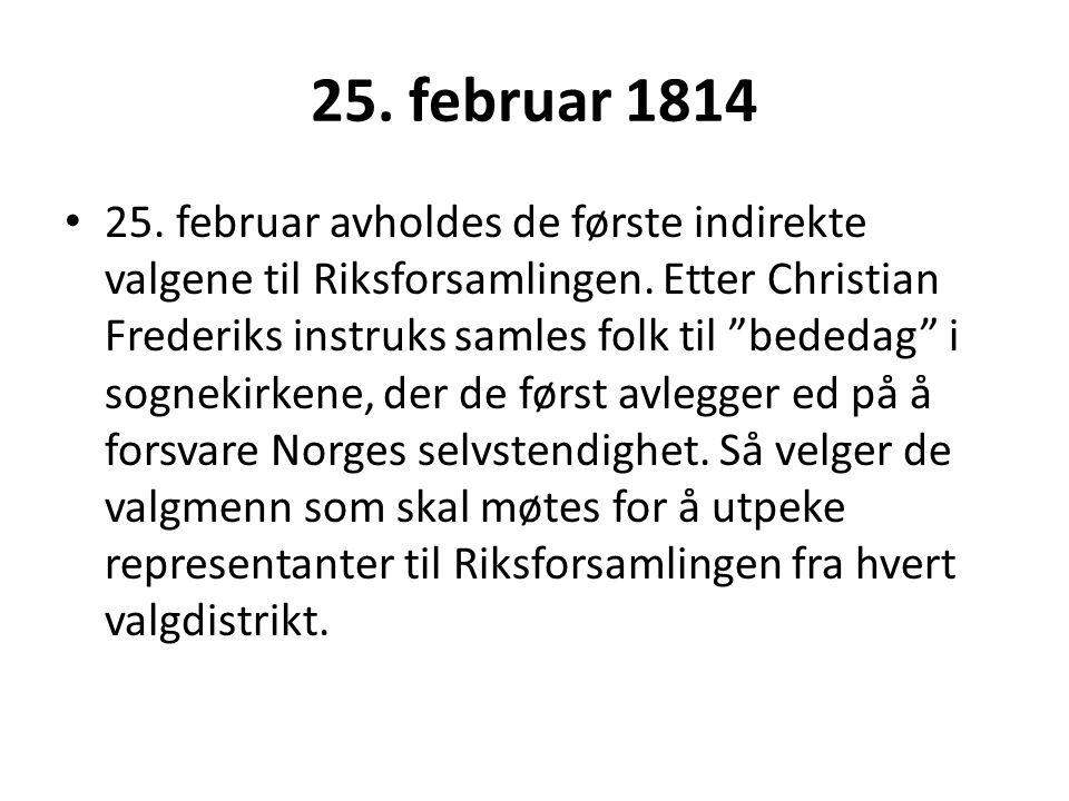 25. februar 1814