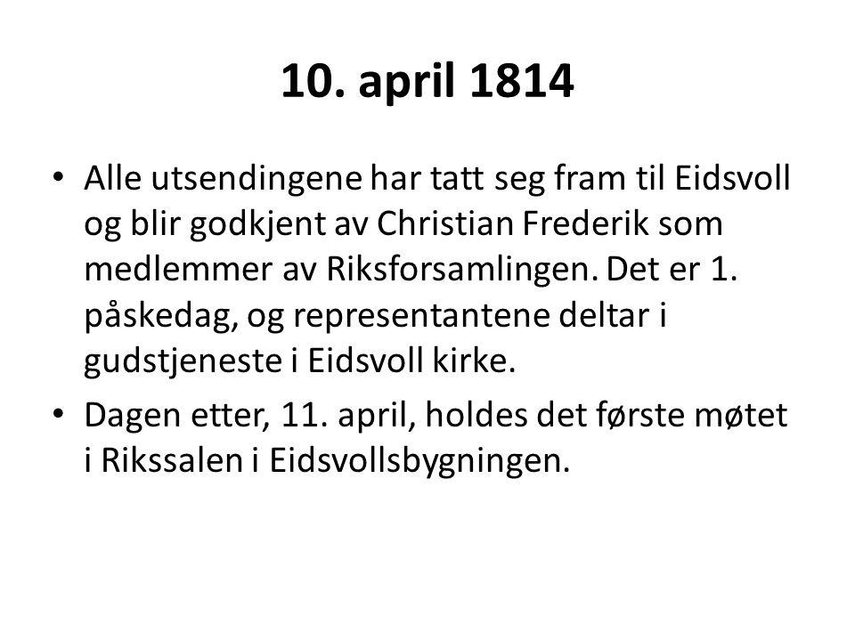 10. april 1814