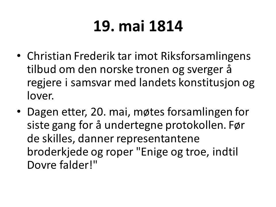 19. mai 1814