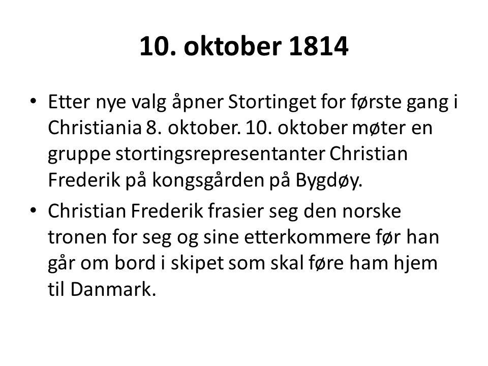 10. oktober 1814