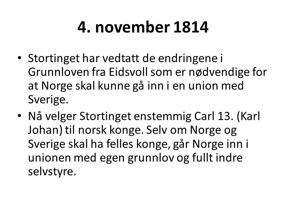 4. november 1814