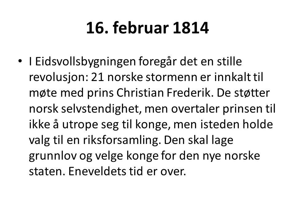 16. februar 1814