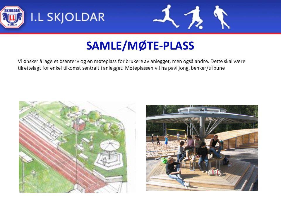 SAMLE/MØTE-PLASS