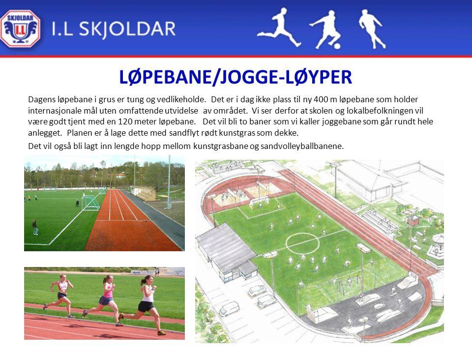LØPEBANE/JOGGE-LØYPER