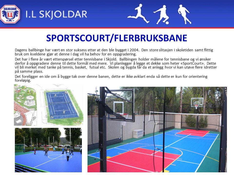 SPORTSCOURT/FLERBRUKSBANE