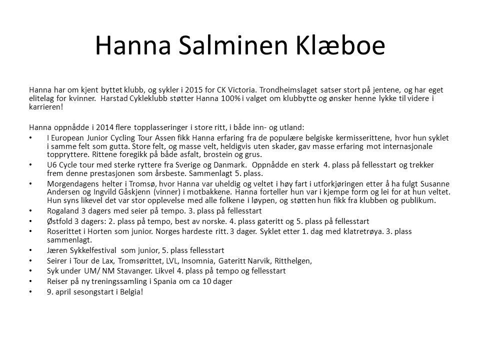 Hanna Salminen Klæboe