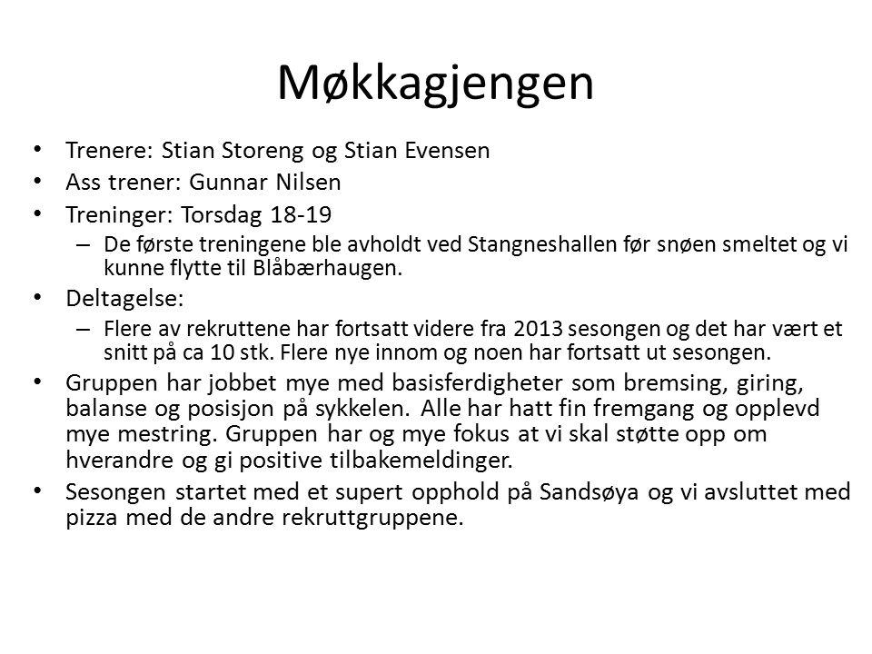 Møkkagjengen Trenere: Stian Storeng og Stian Evensen