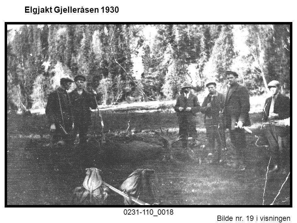 Elgjakt Gjelleråsen 1930 0231-110_0018 Historiske foto nr. 1.ppt Motiv
