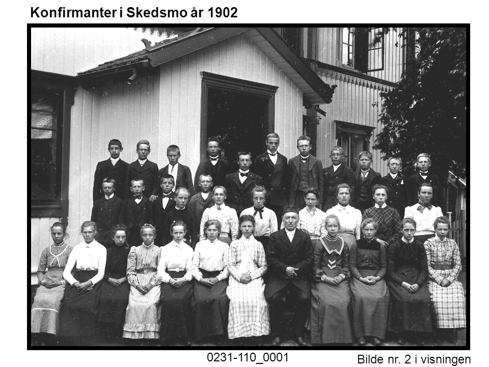 Konfirmanter i Skedsmo år 1902