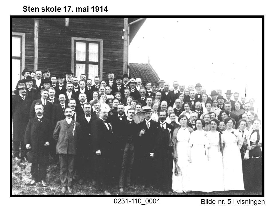 Sten skole 17. mai 1914 0231-110_0004 Historiske foto nr. 1.ppt Motiv
