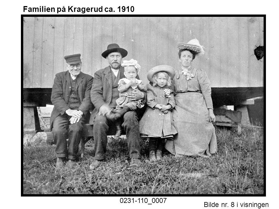 Familien på Kragerud ca. 1910