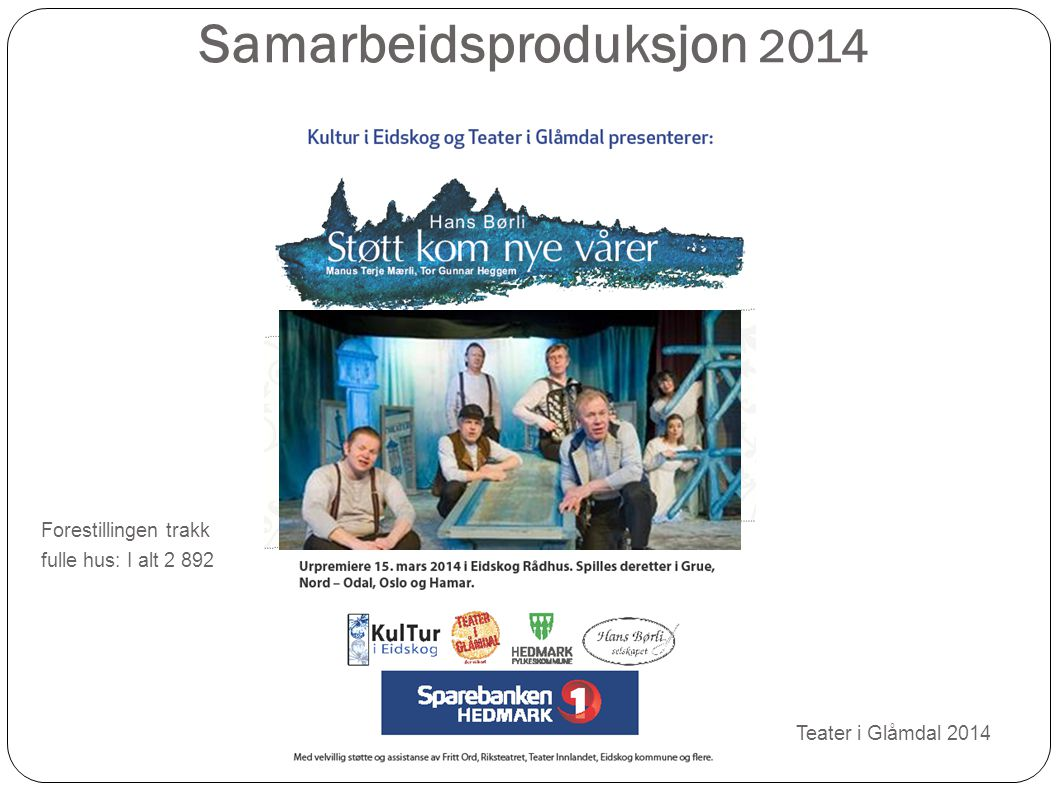 Samarbeidsproduksjon 2014