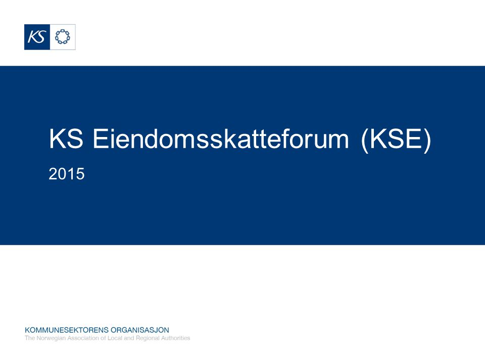 KS Eiendomsskatteforum (KSE)