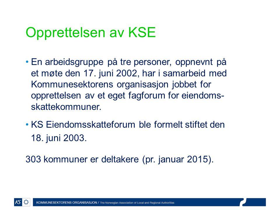 Opprettelsen av KSE