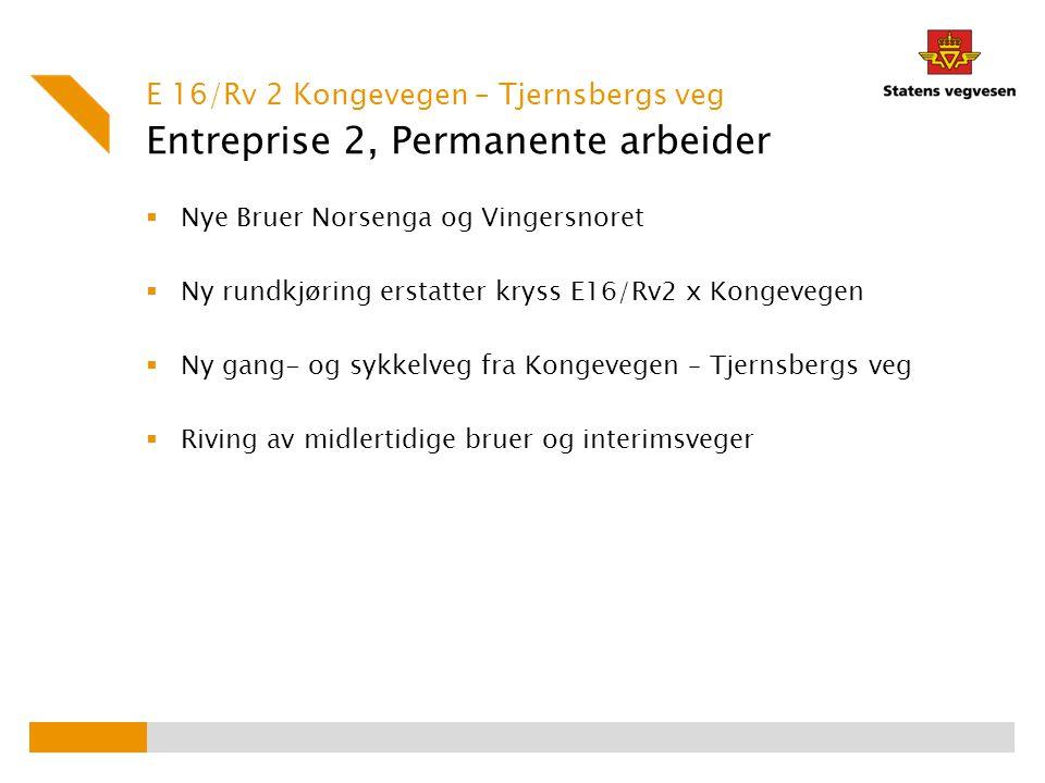 Entreprise 2, Permanente arbeider