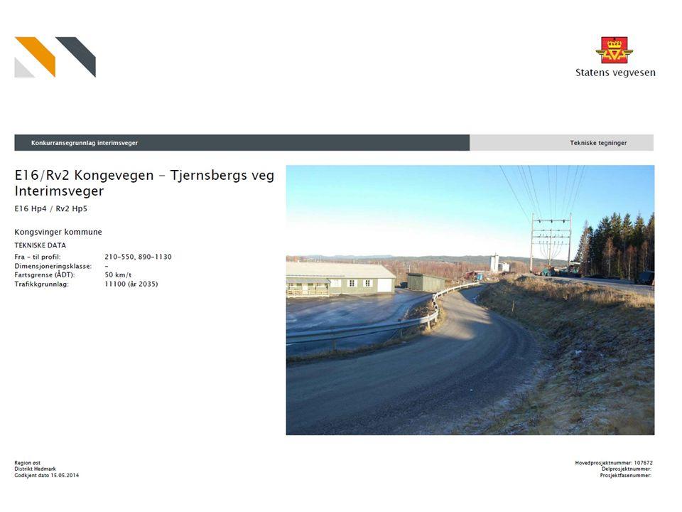 Kongevegen – Tjernsbergs veg