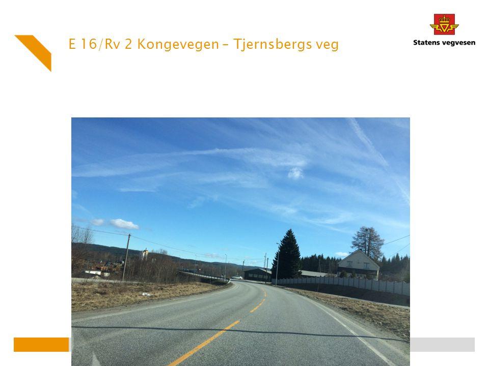 E 16/Rv 2 Kongevegen – Tjernsbergs veg