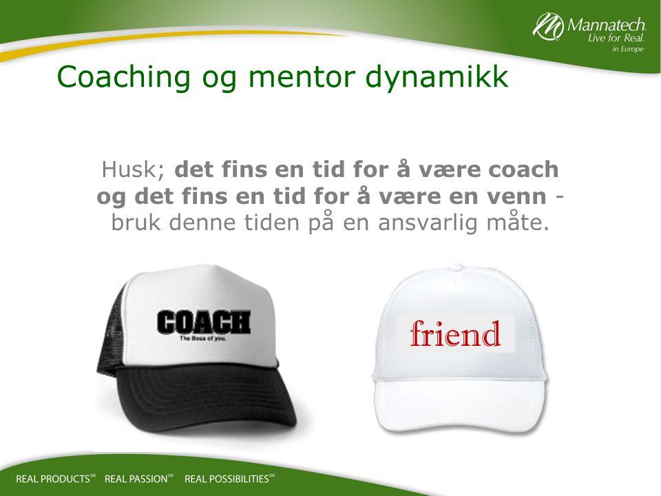 Coaching og mentor dynamikk