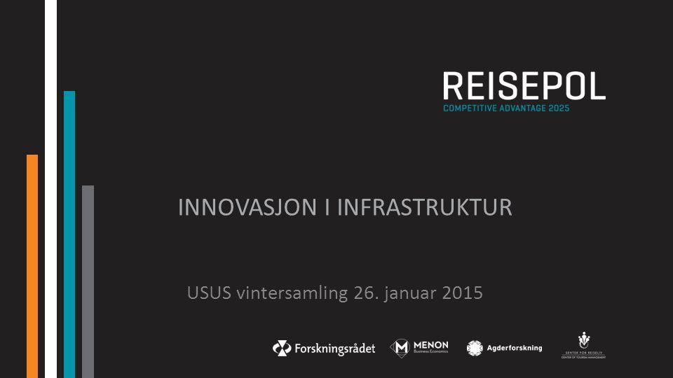 innovasjon i Infrastruktur