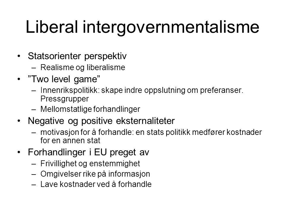 Liberal intergovernmentalisme