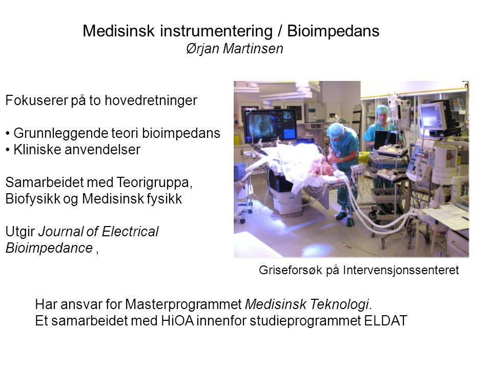 Medisinsk instrumentering / Bioimpedans