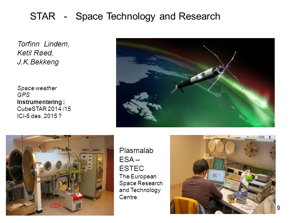 STAR - Space Technology and Research