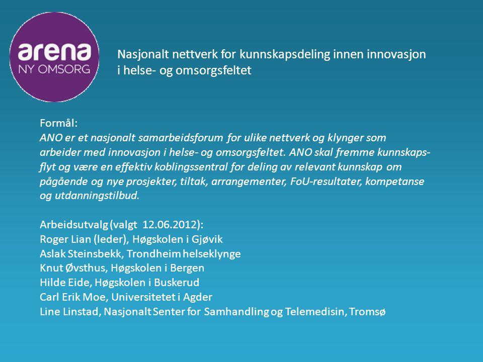 Nasjonalt nettverk for kunnskapsdeling innen innovasjon