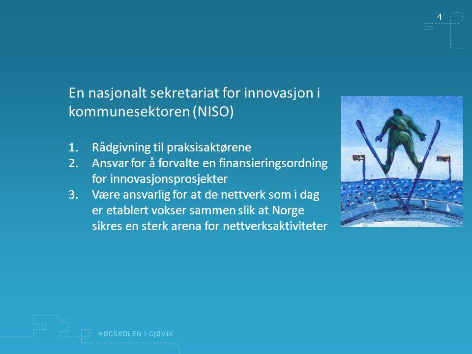 En nasjonalt sekretariat for innovasjon i kommunesektoren (NISO)