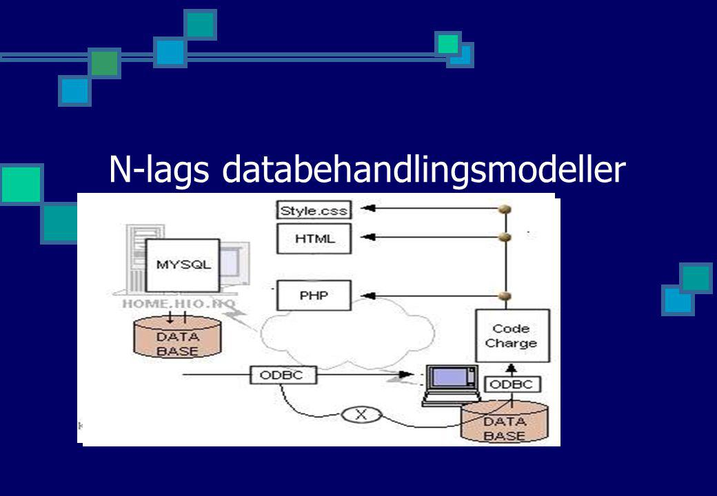 N-lags databehandlingsmodeller