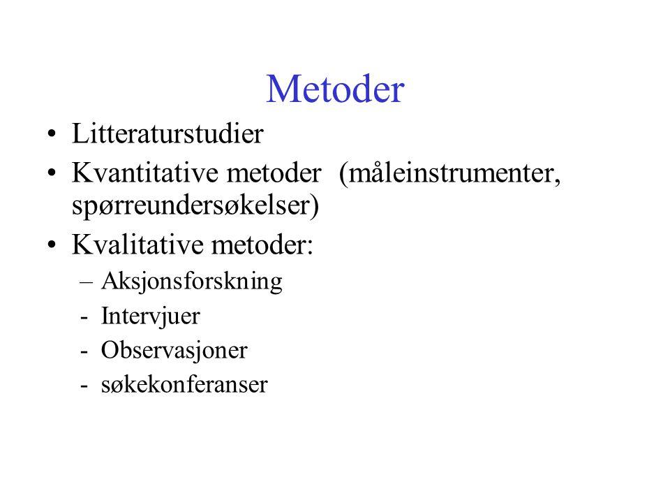 Metoder Litteraturstudier