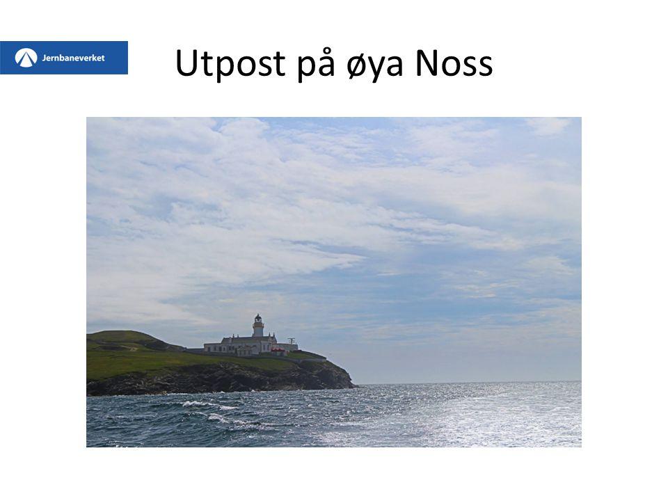 Utpost på øya Noss