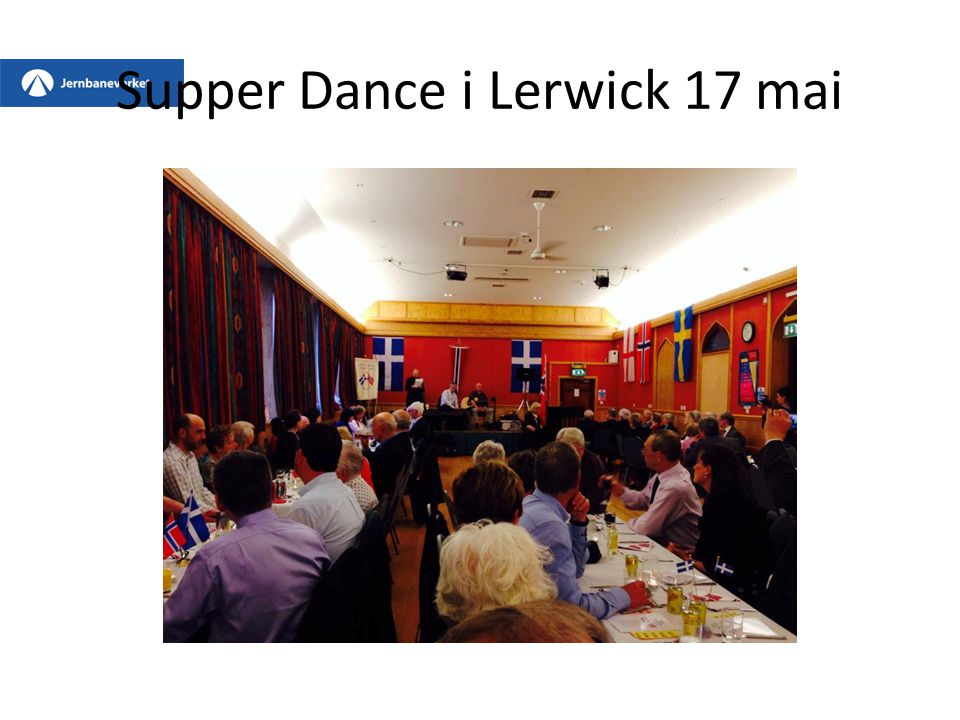 Supper Dance i Lerwick 17 mai