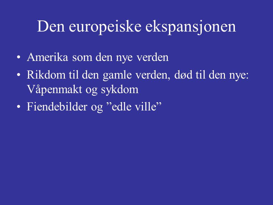Den europeiske ekspansjonen