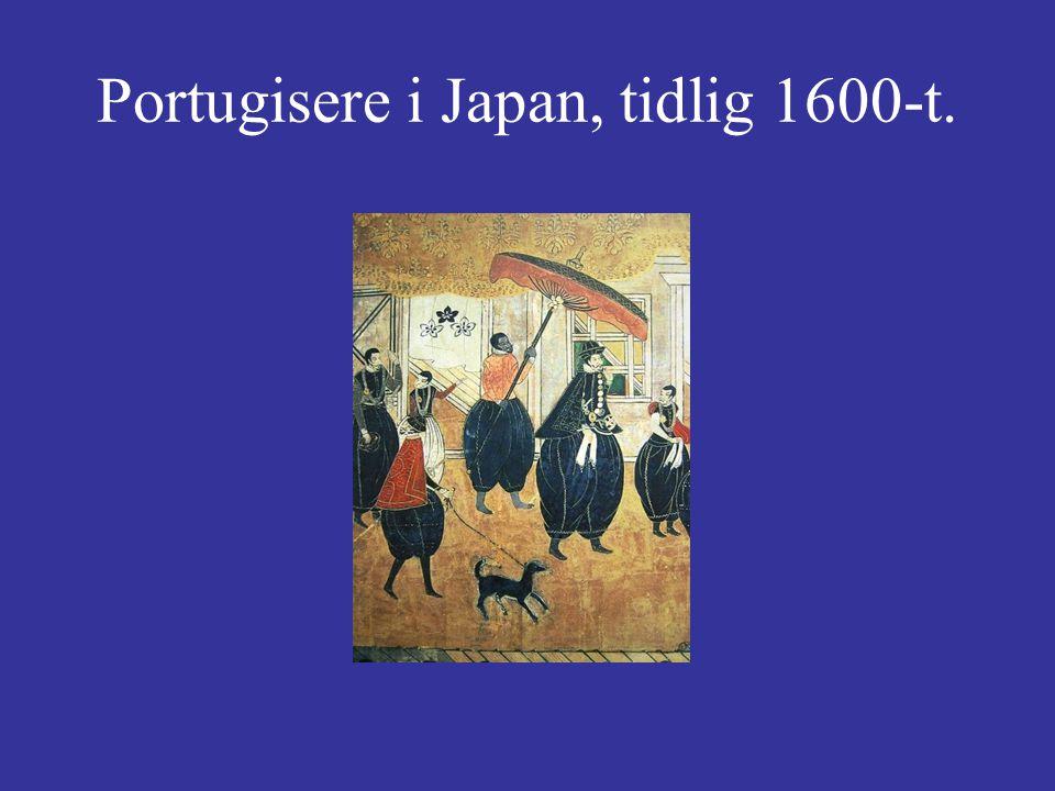 Portugisere i Japan, tidlig 1600-t.