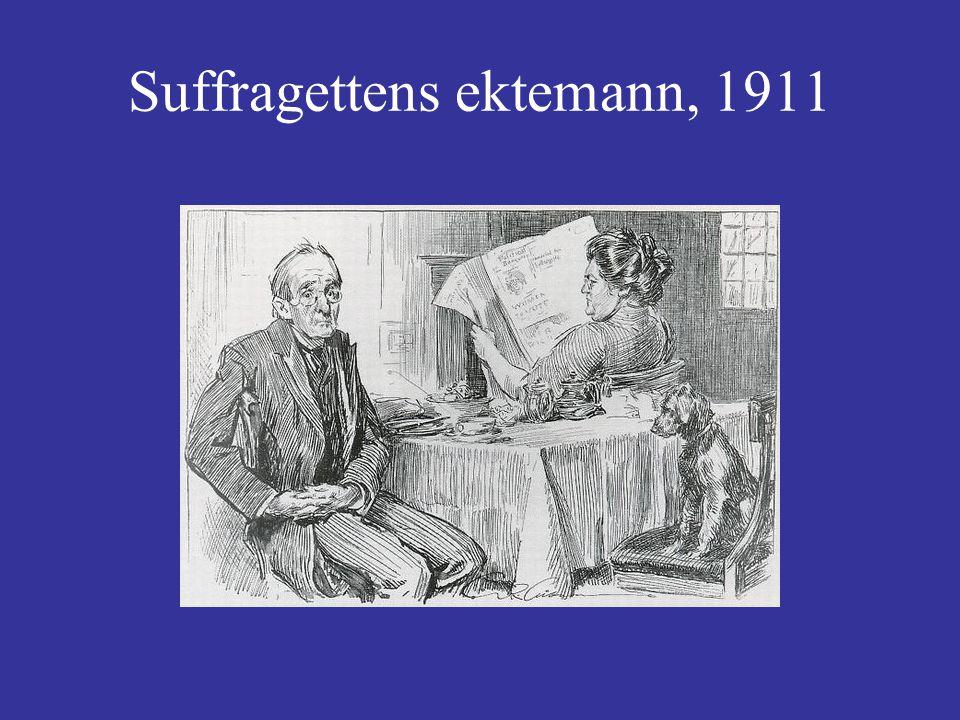 Suffragettens ektemann, 1911