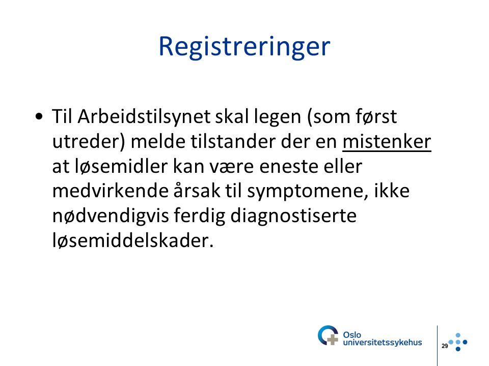 Registreringer