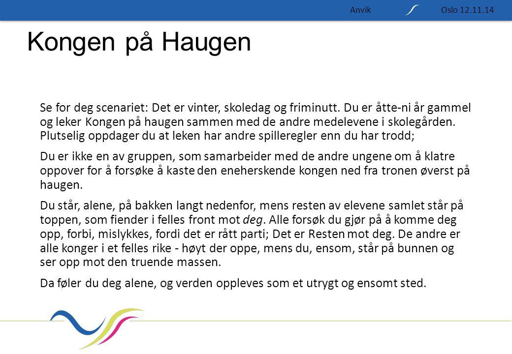 Anvik Oslo 12.11.14. Kongen på Haugen.