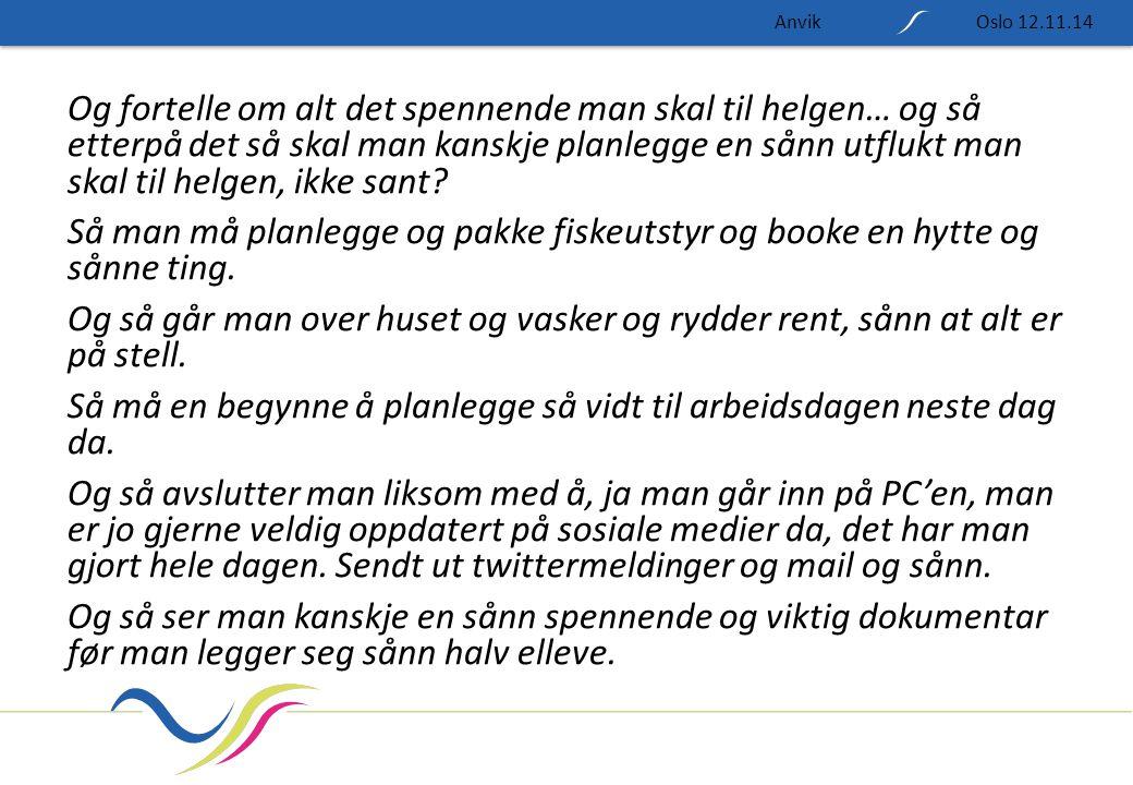 Anvik Oslo 12.11.14.
