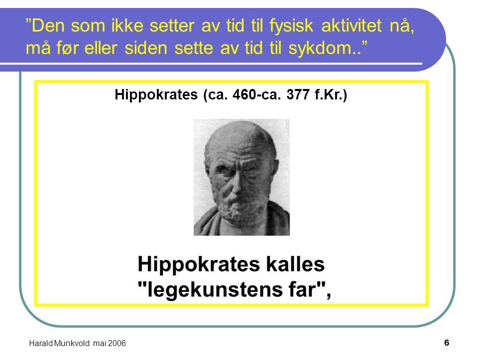 Hippokrates (ca. 460-ca. 377 f.Kr.)