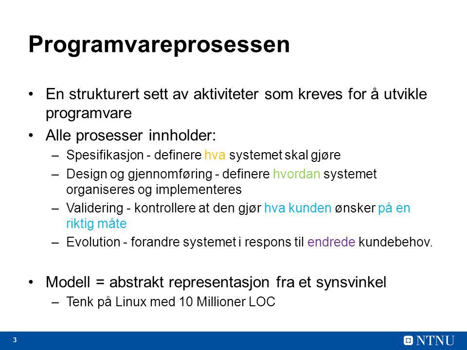 Programvareprosessen