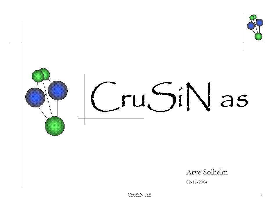 Arve Solheim 02-11-2004 CruSiN AS