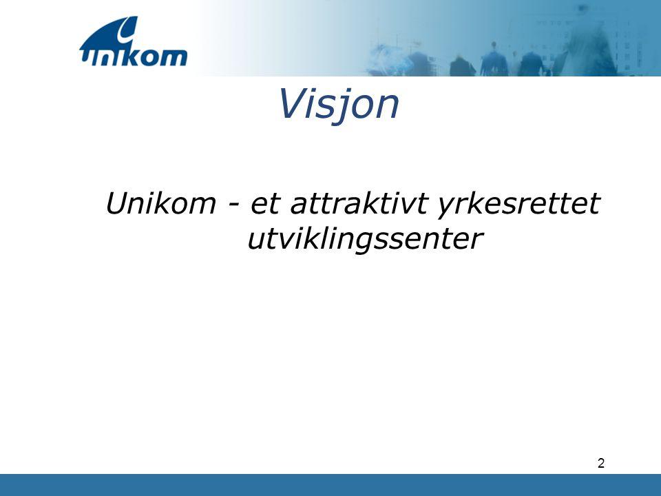 Unikom - et attraktivt yrkesrettet utviklingssenter