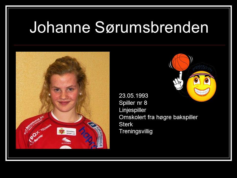 Johanne Sørumsbrenden