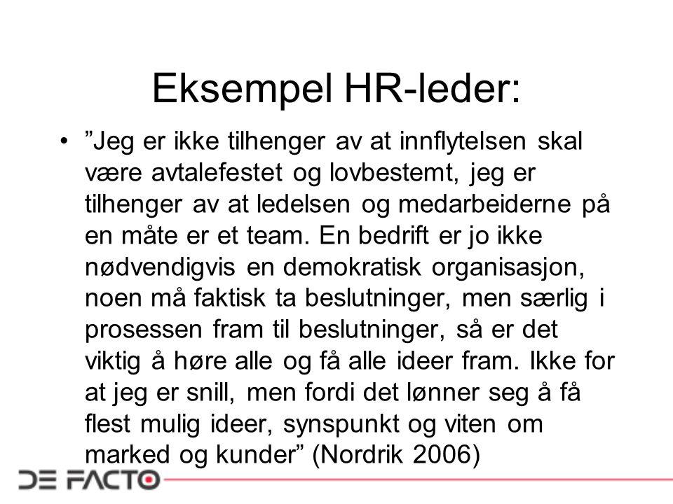 Eksempel HR-leder: