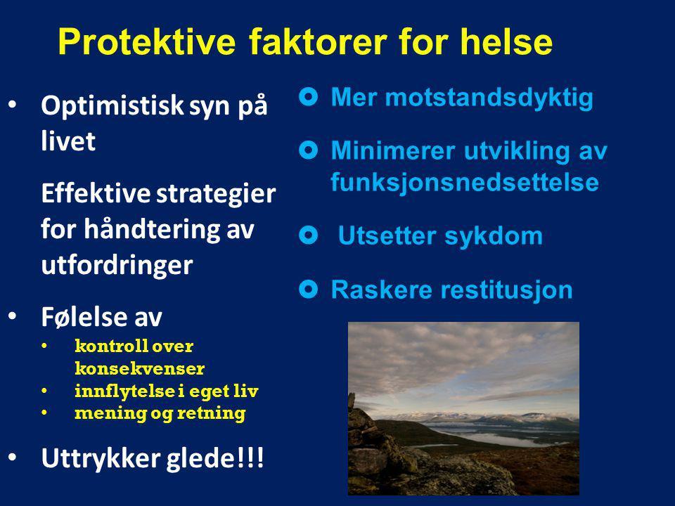 Protektive faktorer for helse