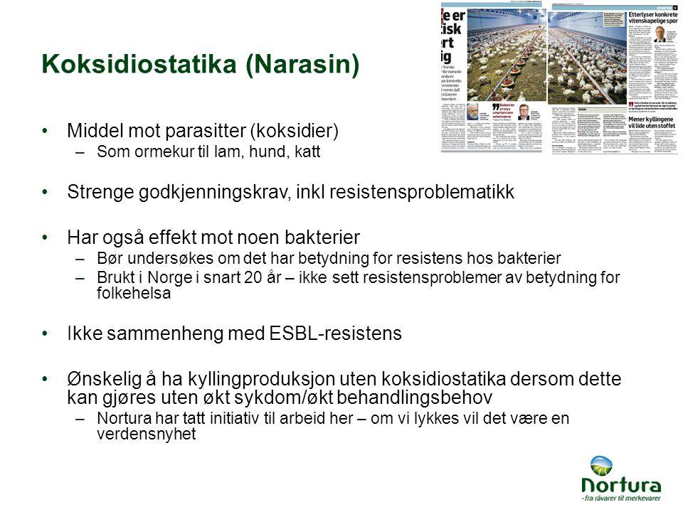 Koksidiostatika (Narasin)