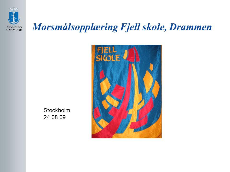 Morsmålsopplæring Fjell skole, Drammen